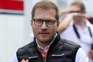 Seidl: McLaren must maintain high standards for success