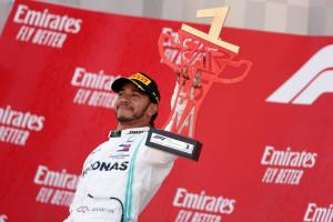 Mercedes sends F1 car and winning trophy to ill fan