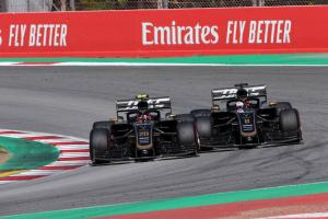 Haas drivers 'clear the air' following Spanish GP contact