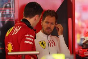 Vettel: Ferrari must accept where we are