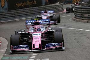 Perez has been 'caught out' by Stroll's race pace