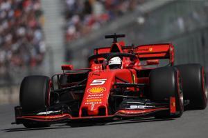 Vettel closes out Canadian GP practice fastest in Ferrari 1-2