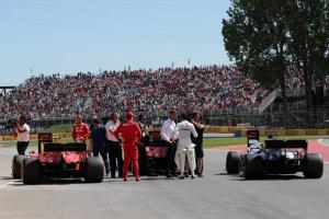 F1 Canadian Grand Prix - Starting Grid