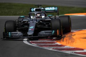 F1 Canadian Grand Prix - Race Results