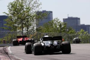Hamilton not bothered about credit for forcing Vettel error