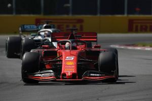 Ferrari withdraws appeal against Vettel's Canada penalty