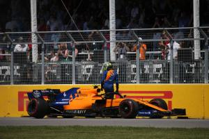 Norris, McLaren seeking answers over Canada car failure