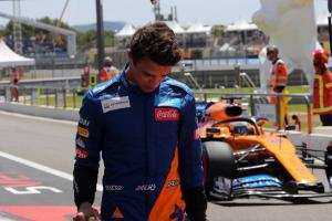 Norris annoyed by 0.009s gap to Verstappen and Red Bull