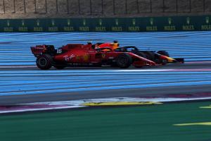 Verstappen: Fight for podium against Ferraris still on