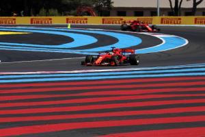 Leclerc explains Ferrari radio calls to hurry Vettel