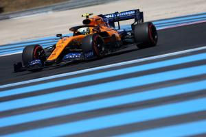 Norris left 'trying to survive' after late hydraulic issue