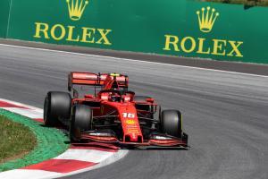 Leclerc quickest as Verstappen, Bottas crash out in Austria FP2