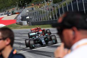 F1 Austrian Grand Prix - Provisional Starting Grid