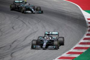 Bottas: Hamilton grid drop a big opportunity