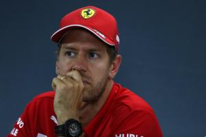 Vettel: Pressure I put on myself bigger than anyone else
