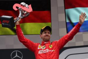 Vettel: Recovery to P2 felt like a 'small victory' for Ferrari