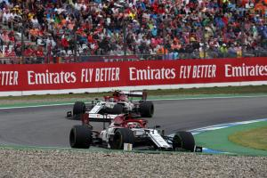 Alfa Romeo formally appeal German GP penalties