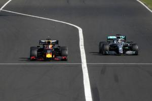 Verstappen: Hamilton's charge reflects Mercedes dominance