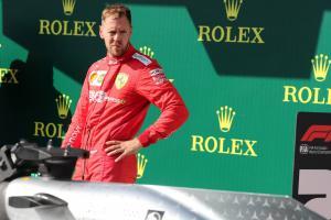 Vettel rates F1 season so far at 5 out of 10