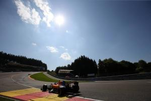 F1 Belgian Grand Prix - Qualifying Results