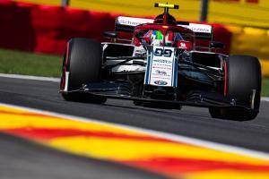 Giovinazzi receives Belgian GP grid drop