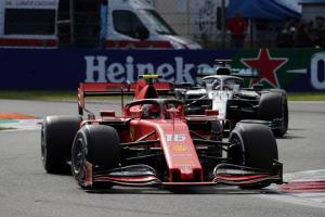 Hamilton questions stewards' ruling after Leclerc battle