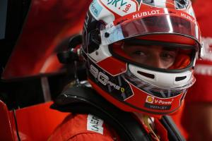 Leclerc edges Verstappen to lead opening Russia practice