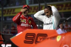Hamilton: Fighting Ferrari in Singapore qualifying a struggle