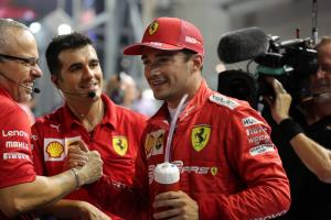"Leclerc: Singapore pole a ""big surprise"" for Ferrari"