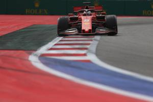 Ferrari can improve on 'strange' Russian GP Friday - Vettel