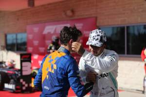 Norris and Russell look to emulate 'inspirational' Hamilton
