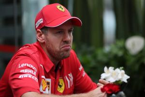 Vettel responds to Verstappen's Ferrari cheat claims