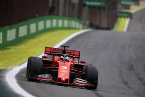 Confident Vettel says more to come from Ferrari in Brazil