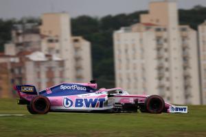 Perez avoids penalty for Grosjean incident in Brazil FP3