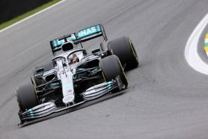 Hamilton closes out Brazilian GP practice fastest