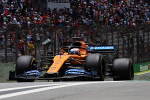 McLaren's Sainz takes on new engine for Brazilian GP