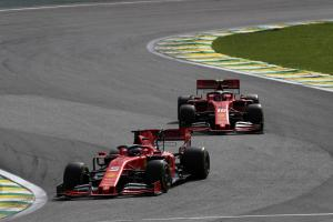 Leclerc, Vettel cleared by stewards over Interlagos crash