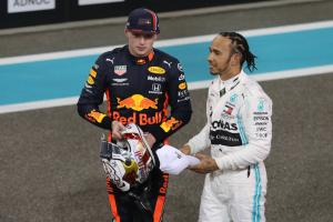Hamilton says Verstappen has called Mercedes about F1 drive