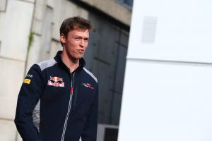 Kvyat relaxed about Toro Rosso future