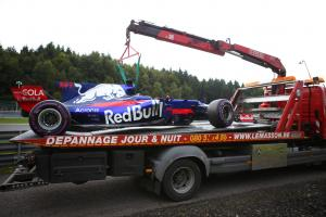 Five drivers primed for Belgian Grand Prix penalties