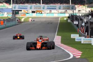 Alonso hails 'a step forward' for McLaren despite questions over new parts