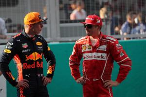 """Raikkonen: Verstappen overtake """"really pissed me off"""""""