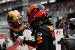 Hamilton: Verstappen at perfect place with Red Bull
