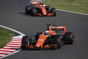 Alonso sanctioned for ignoring blue flags in Hamilton/Verstappen battle