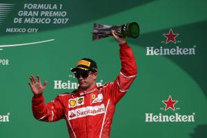Raikkonen happy with Mexico podium after 'disaster' start