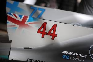 Hamilton: I don't plan to run #1 in F1