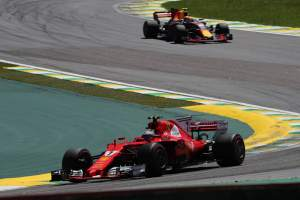 Raikkonen comfortable against Hamilton in 'boring' Brazil GP
