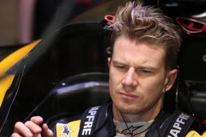 Hulkenberg reveals new F1 helmet design