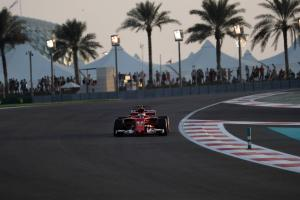 Raikkonen tops opening day of Abu Dhabi F1 test