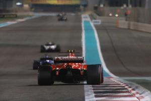 Raikkonen not concerned about Ferrari pace drop for 2018